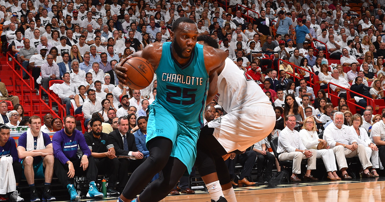 Miami Heat V Charlotte Hornets - Game Two