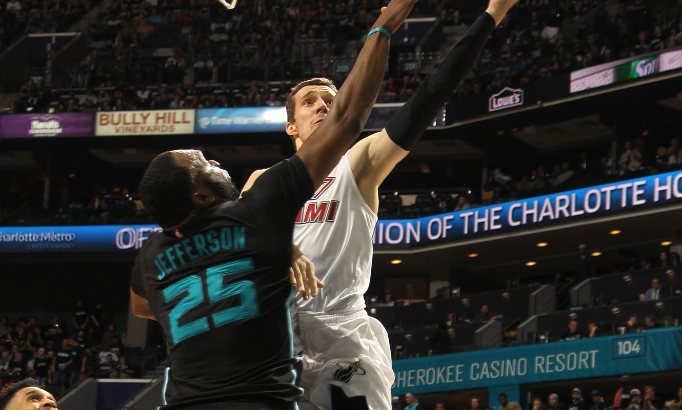 Miami Heat v Charlotte Hornets - Game Three