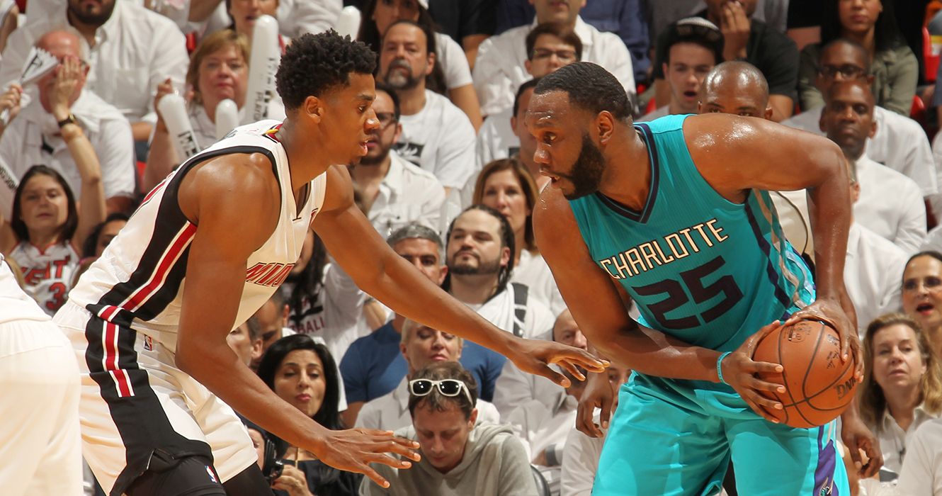 Charlotte Hornets v Miami Heat - Game Two