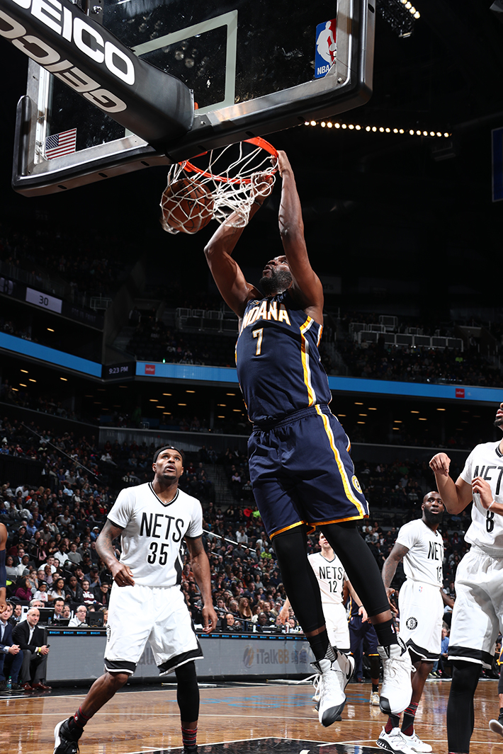 Indiana Pacers v Brooklyn Nets